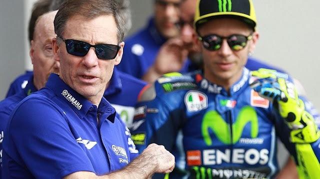 Yamaha Gantung Kontrak Rossi