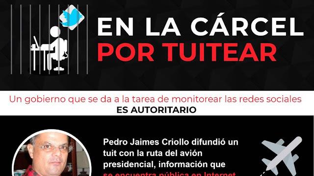 Cuidado con lo que tuitea en Venezuela, ese pajarito azul puede ponerlo tras las rejas