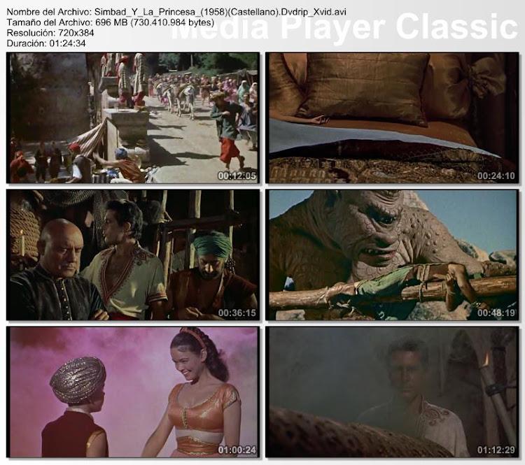 Simbad y la Princesa | 1958 | The 7th Voyage Of Sinbad