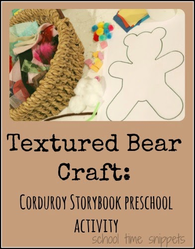 preschool bear craft