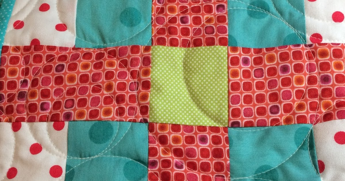 Quilting Grid Patterns : Mother Patchwork: Vivid Grid Quilt = Finished!