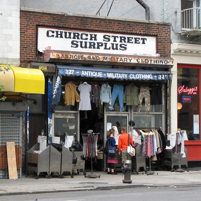Church Street Surplus, Church Street, New York City