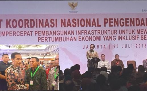Ajang Rakornas IX TPID, Basli Minta Fery, Untuk Masyarakat Selayar Kepada Presiden