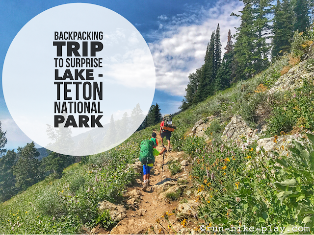 Backpacking to Surprise Lake - Grand Teton National Park