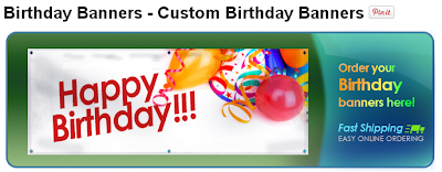 Custom Birthday Banners from Banners.com