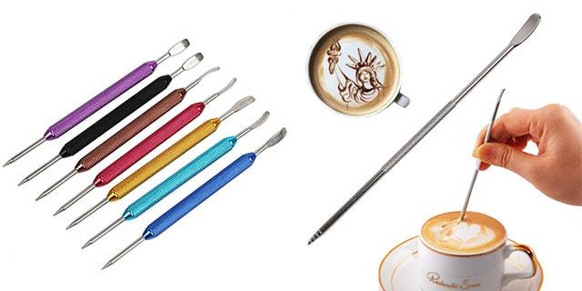 barista kalemi, barista kahve süsleme çubuğu
