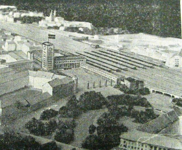 1937-1938-й годы. Рига. Проект здания ж/д вокзала и привокзальной площади.