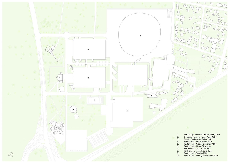 Vitra Fire Station Floor Plan 10 Sanaa Sejima Nishizawa A F A S I A