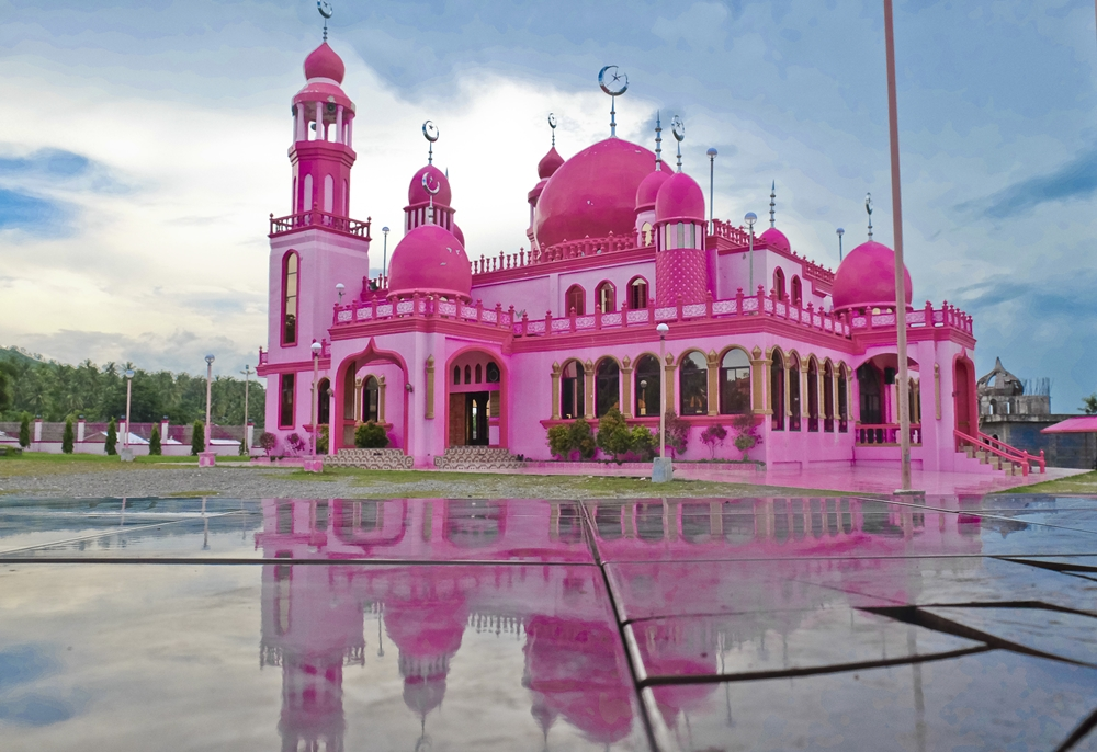 The Pink Mosque of Peaceful Mindanao