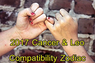 2017 Cancer and Leo compatibility zodiac forecast