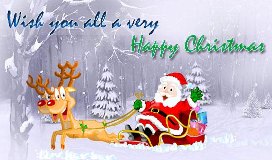 Happy Christmas Instagram Captions