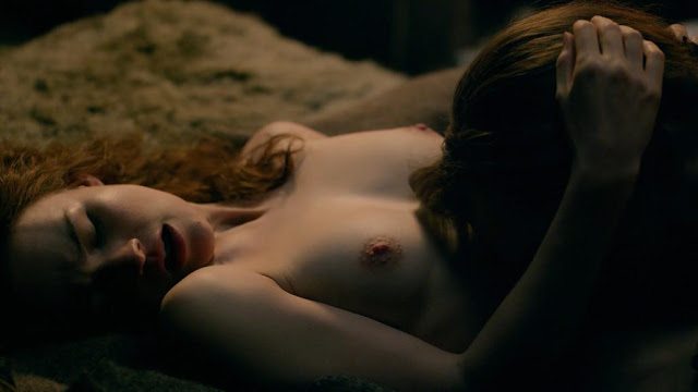 Sophie Skelton lingerie