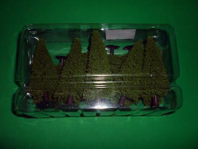 Compras roleras: Árboles en miniatura para escenografía