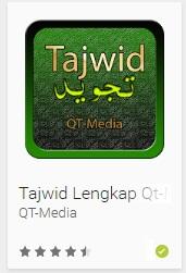 aplikasi android Tajwid Lengkap