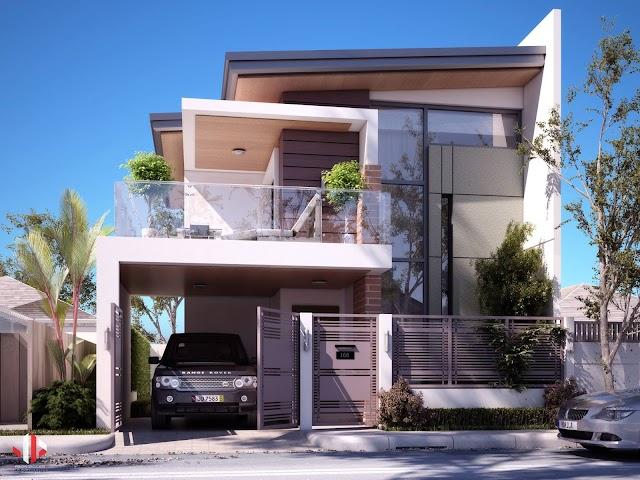 NHững mẫu nhà 2 tầng mà ai cũng ao ước