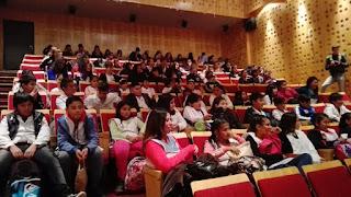 Estudiantes de Monte Chingolo disfrutaron una función en el cine de la UNLa
