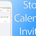 Learn How to Stop iCloud Calendar Spam Invites on iPhone