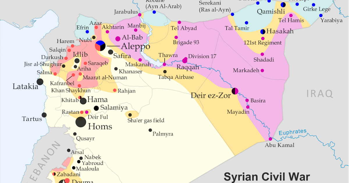 syria civil war map august 2014 13 political geography now