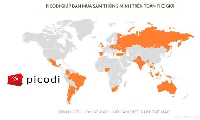 Picodi và top 50 trang share mã khuyến mãi mã giảm giá từ Picodi