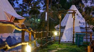 camping bandung