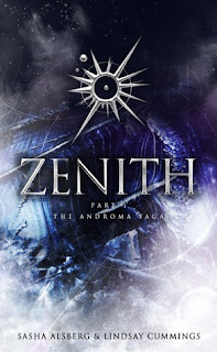 Zenith by Sasha Alsberg and Lindsay Cummings space book