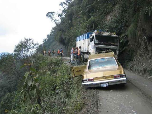 Los caminos más peligrosos del mundo