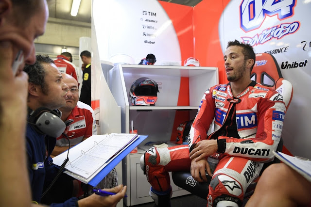 Gagal Finis, Dovi : Ini Salah Michelin