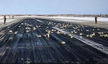 Di Rusia Sekitar 172 Emas Batangan jatuh dari Langit diduga karena Ini