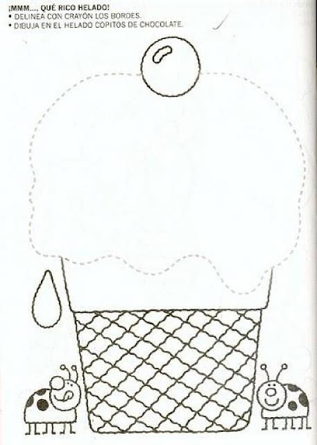 Desenhos Pontilhados Para Educação Infantil