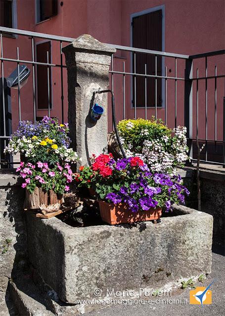 Fontane fiorite a Cravegna