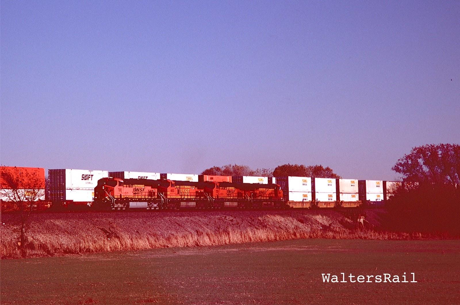 WaltersRail : BNSF West of Wellington