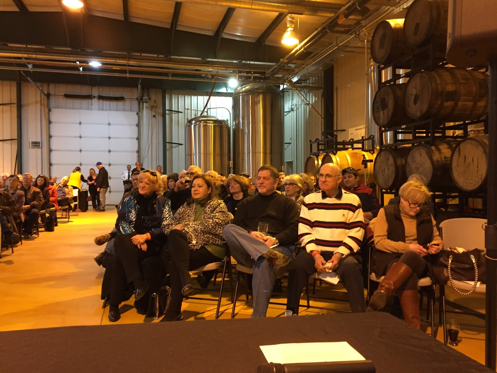 Old Bust Head Brewery, Next Door To The Museum, Hosted This Fundraising  Event For Cwm On Their Production Floor And Provided Great Cooperation With  Us For