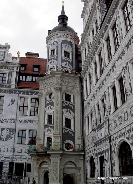 Torre Hausmann, no Castelo de Dresden