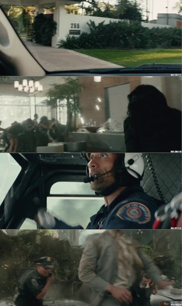 San Andreas 2015 Hindi Dubbed 720p BluRay