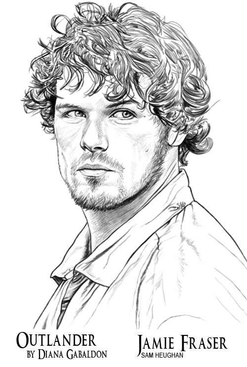Outlander coloring book