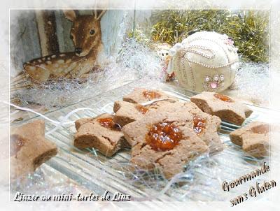 Linzer ou mini-tartes de Linz, biscuits de Noël
