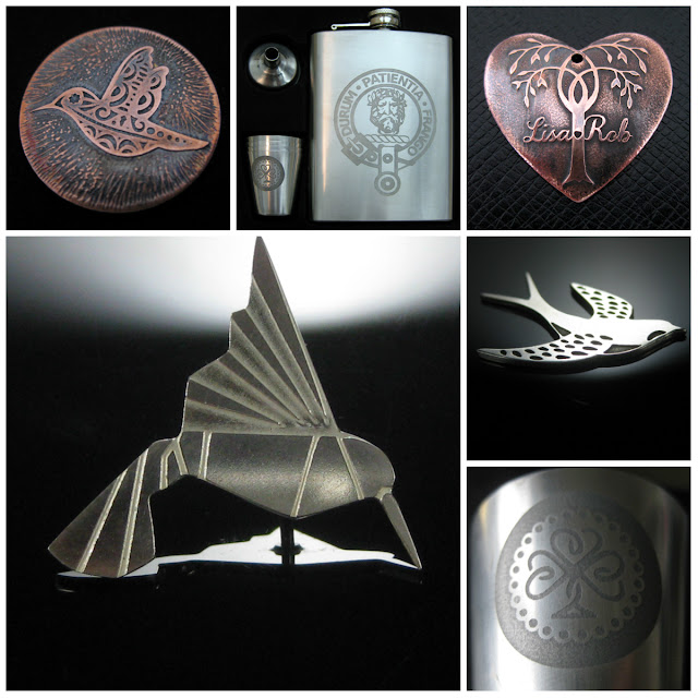 Salt water and ferric chloride Etching tutorials using vinyl resists cut with the Silhouette.  Tutorials by Nadine Muir Silhouette UK Blog