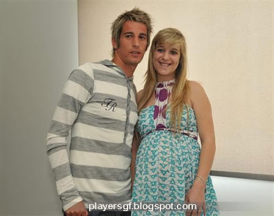 Fábio Coentrão and his wife