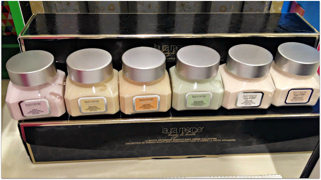 Laura Mercier set of 6 Patisserie Souffle Body Creme collection