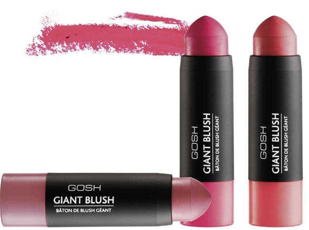 Colour and glow with cream blush sticks from GOSH, Tarte and Clinique!