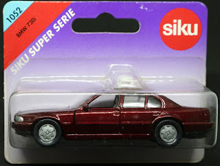 Siku - 1052 BMW 730i, 吸塑包裝