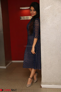 Dazzling Janani Iyer New pics in blue transparent dress spicy Pics 015.jpg
