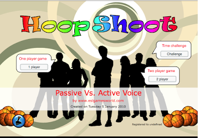 HoopShoot Active and Passive Game