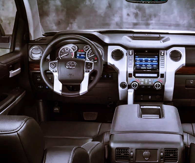 2018 Toyota Tundra Design Interior Engine