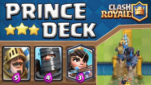 Cara Mendapatkan Prince di Clash Royale