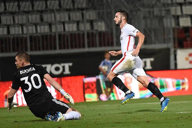 Crónica Sigma Olomouc 0 - Sevilla FC