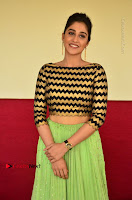 Actress Regina Candra Latest Pos in Green Long Skirt at Nakshatram Movie Teaser Launch  0094.JPG