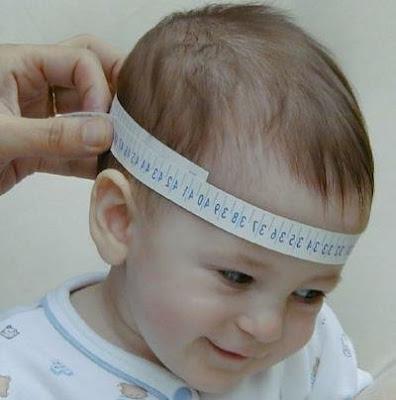 Curioso estudio dice que bebés de cráneo grande son más inteligentes.