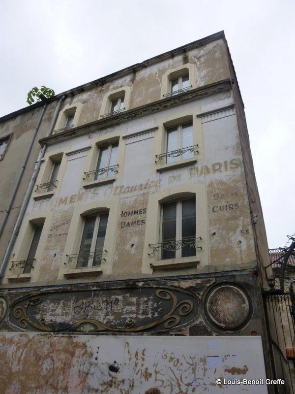 Les murs peints s 39 affichent murs clermontois - Rue du port clermont ferrand ...