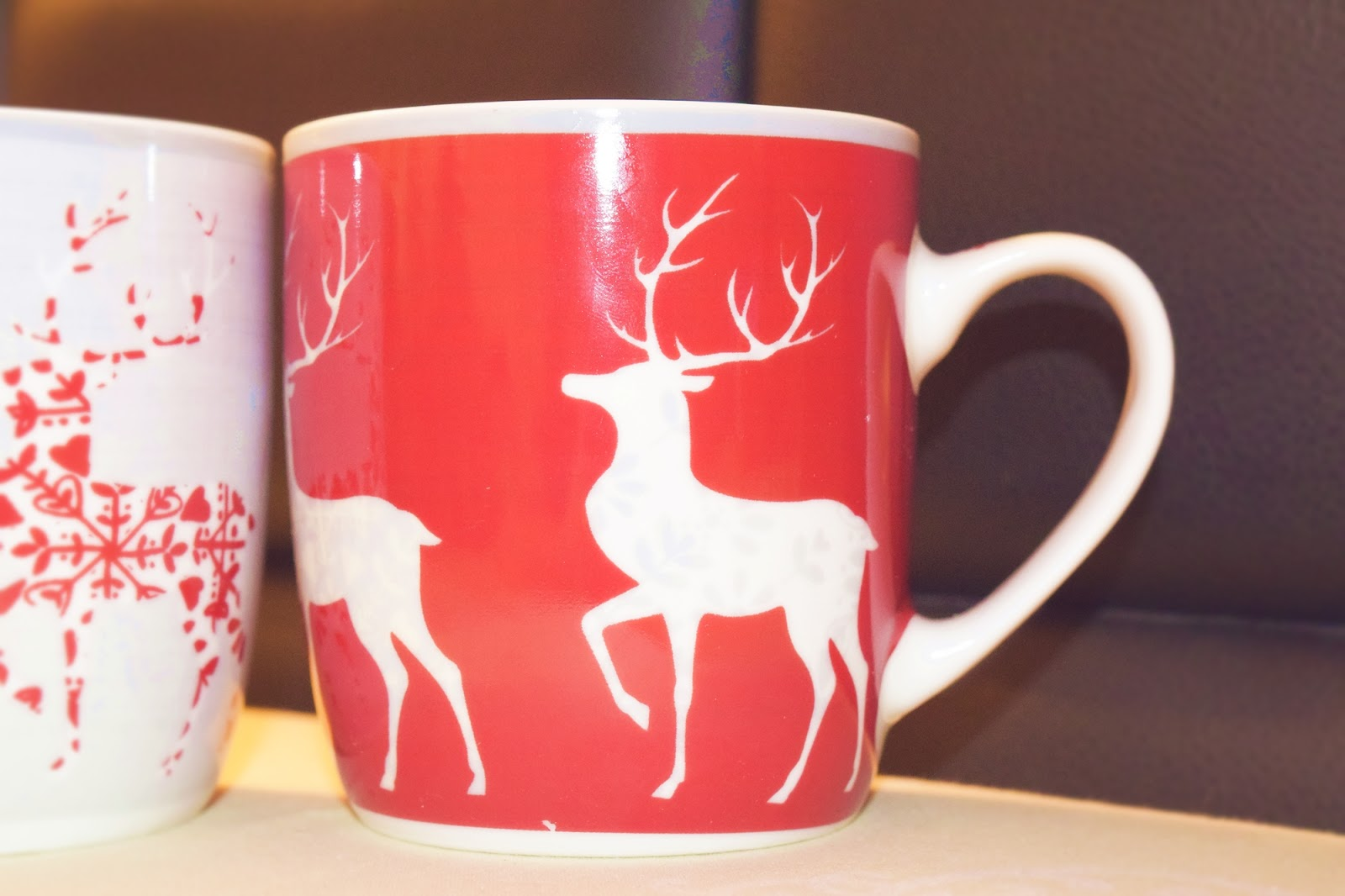 Set of 2 Reindeer Mugs from next.uk
